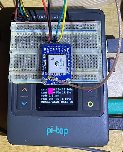 pi-top GPS Miniscreen